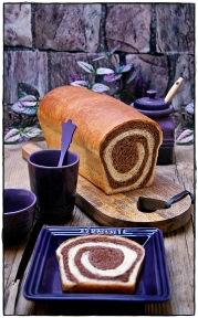 PAN EN ESPIRAL CON CHOCOLATE