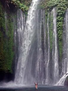 CASCADA LOMBOK - INDONESIA
