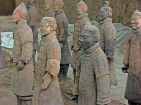 GUERREROS DE TERRACOTA - XIAN (CHINA)
