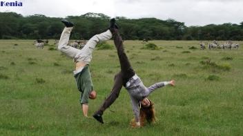 KENIA - SAFARI POR LA SABANA