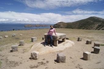 BOLIVIA (COPACABANA) - ISLA DEL SOL (SINMAPA)